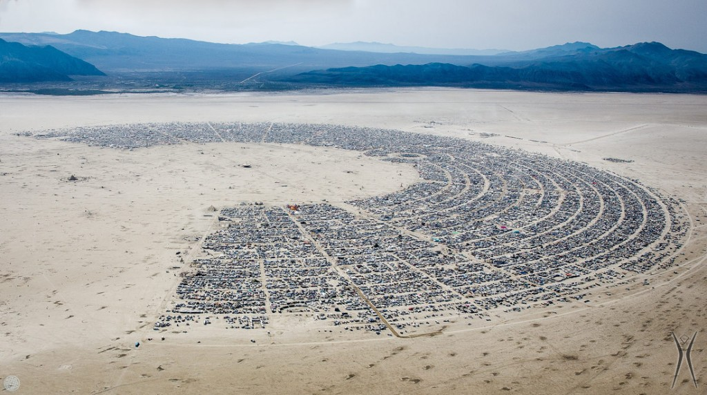 The Burningman Playa
