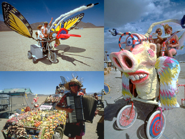 Art Cars (from http://www.Burningman.com)