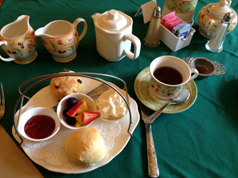 I had English cream tea - in Florida.