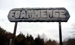 I went to Foamhenge.