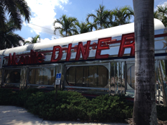 I ate at a diner. A real diner.