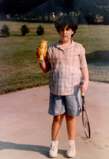 Me ... or Adam Sandler as a kid? It's ME, people!!!
