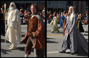 Gandalf and hobbits and elves ... oh my!