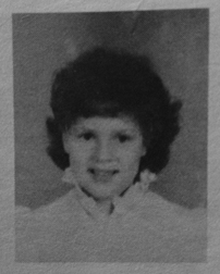 Libby in Kindergarten