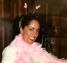 Feather boa and plastic penises ... you can't go wrong.